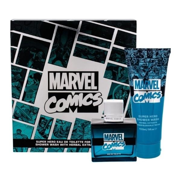 Marvel Comics Hero Eau De Toilette 75ml Combo: Edt 75 Ml + Shower Gel 150 Ml oμορφια   αρώματα   σετ αρωμάτων