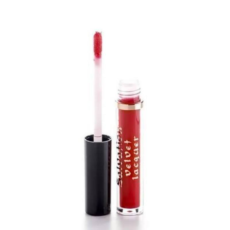 Make Up Revolution London Salvation Velvet Lip Lacquer 2ml Keep Trying For You oμορφια   μακιγιάζ   μακιγιάζ χειλιών   lip gloss