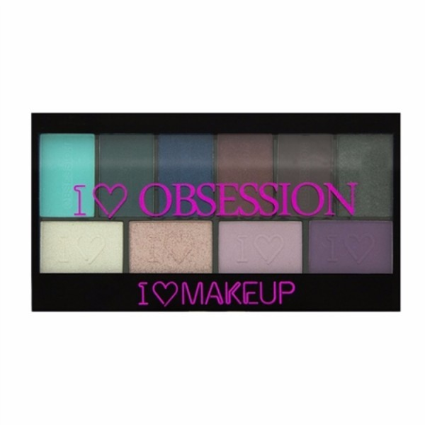 Make Up Revolution London I Love Make Up I Heart Obsession Palette 17gr Wild Is The Wind
