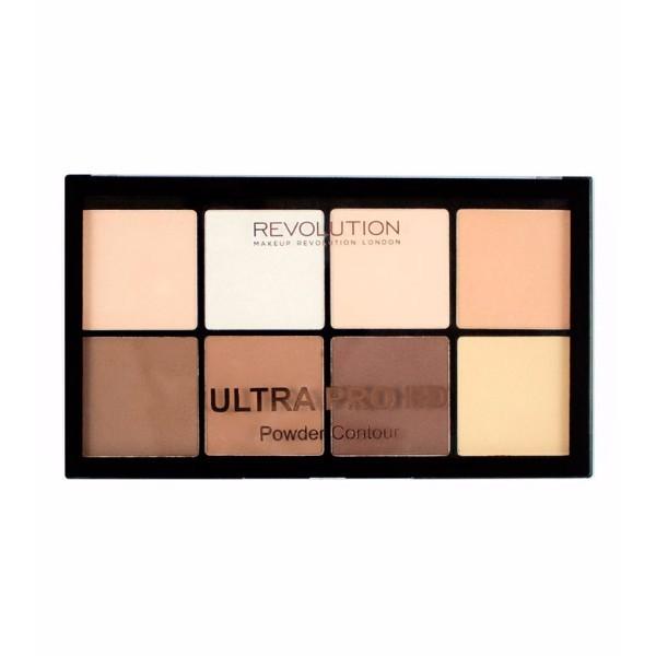 Make Up Revolution London Ultra Pro Hd Powder Contour Palette 20gr Fair