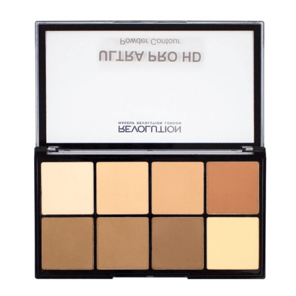 Make Up Revolution London Ultra Pro Hd Powder Contour Palette 20gr Light Medium