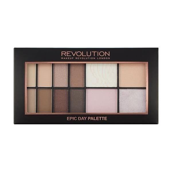 MAKEUP REVOLUTION Epic Day Palette paleta 12 cieni 10,5g