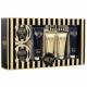 Grace Cole White Nectarine Pear Essential Luxury Kit 200ml - Set Shower Gel 200ml & Body Cream 150ml & Body Butter 200ml & Bath Essence 150ml & Salt 200 G & Caviar 200 G & Sparkling Tablet 2 X 25 G