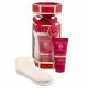 Grace Cole Wild Fig Cranberry Foot Lotion Duo Kit 50ml For Hydration Of The Feet - Set Hydrating Foot Care 50ml + Socks 1 Pair