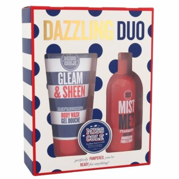 Grace Cole Miss Cole Dazzling Duo Kit 100ml For Fresh Skin - Set Shower Gel Gleam Sheen 100ml + Body Fog Mist Me 100ml