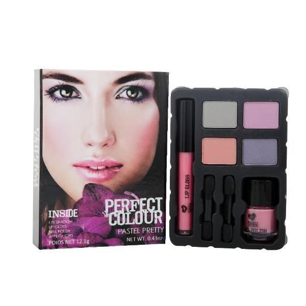 Jigsaw Perfect Colour Pastel Pretty 12,4gr: Complete Make Up Palette oμορφια   μακιγιάζ   μακιγιάζ προσώπου   σετ μακιγιάζ