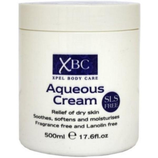 Xpel Body Care Aqueous Cream Body Cream 500ml Sls Free