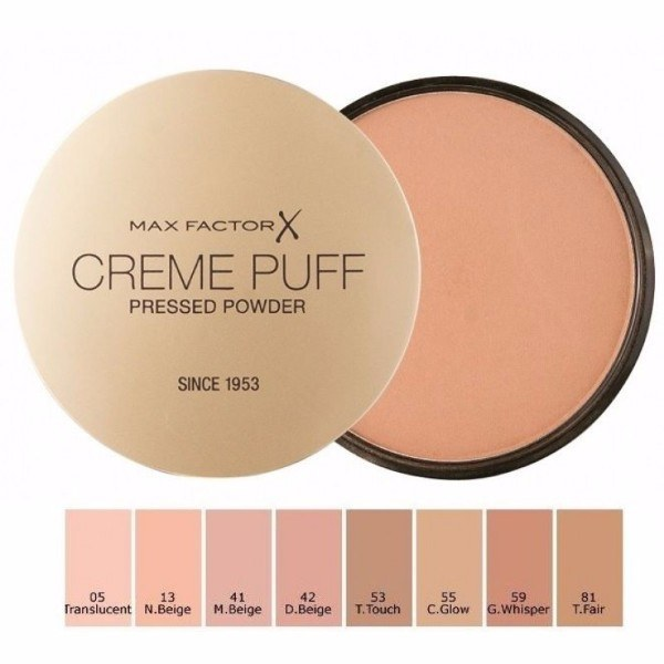 MAX FACTOR Creme Puff Pressed Powder 59 Gay Whisper 21g