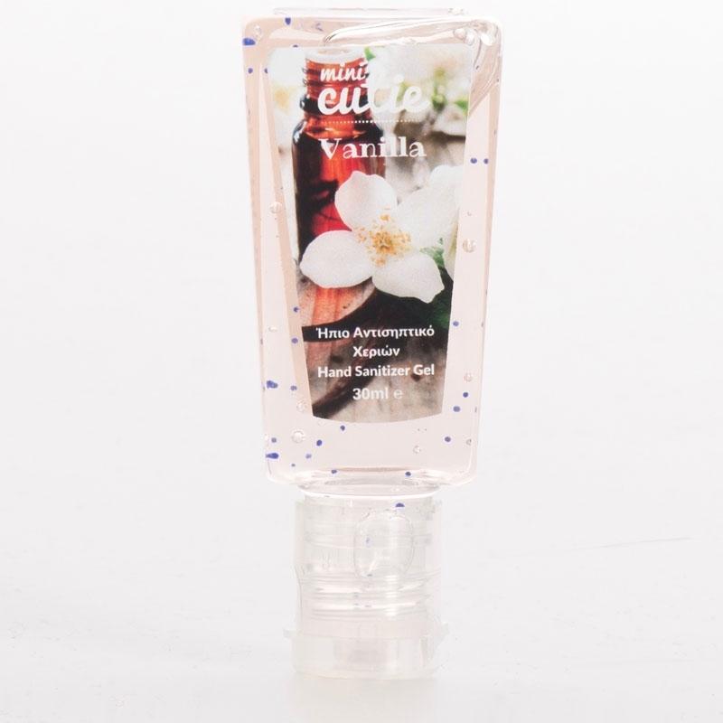 Mini Cutie Vanilla Ήπιο Αντισηπτικό Χεριών 30ml oμορφια   σώμα   καθαρισμός σώματος