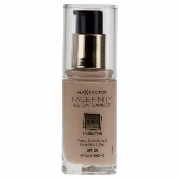 Max Factor All Day Flawless Facefinity 3 In 1 30ml 45 Warm Almond SPF20