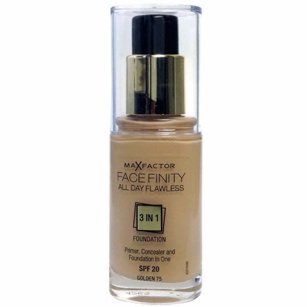 Max Factor All Day Flawless Facefinity 3 In 1 30ml 75 Golden