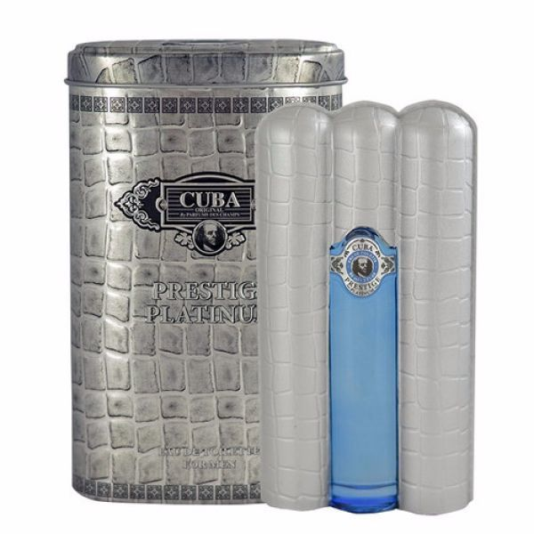 CUBA ORIGINAL Cuba Prestige Platinum EDT 100ml