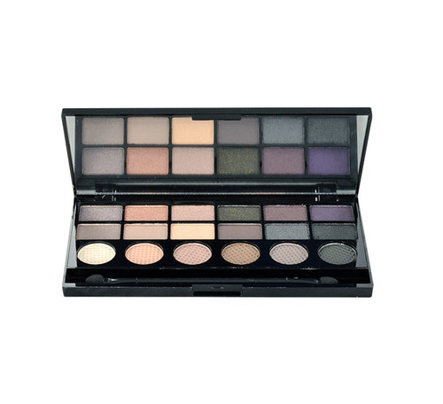 Make Up Revolution London Hard Day Eyeshadow Palette 13gr 18 Eyeshadows