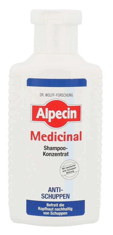 Alpecin Medicinal Shampoo Concentrate Anti-dandruff Shampoo 200ml (Dandruff - Anti Hair Loss)