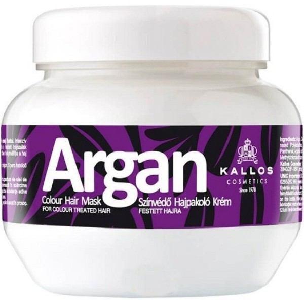 KALLOS Argan Colour Hair Mask 275ml oμορφια   μαλλιά   αναδόμηση μαλλιών   μάσκες μαλλιών