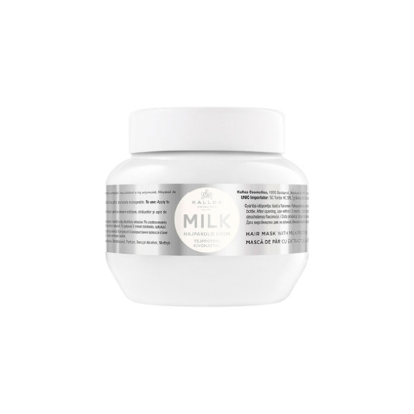 KALLOS Milk Hair Mask With Milk Protein 275ml