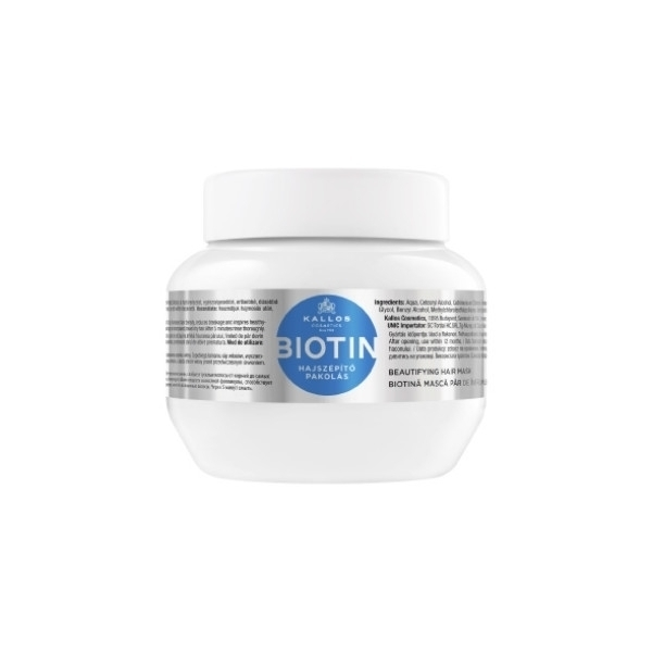 KALLOS Biotin Beautifying Hair Mask 275ml oμορφια   μαλλιά   αναδόμηση μαλλιών   μάσκες μαλλιών