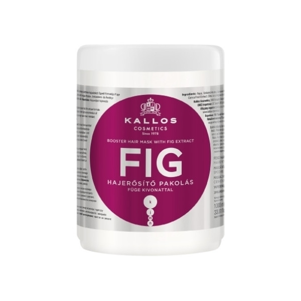 KALLOS Fig Booster Hair Mask With Fig Extract 1000ml oμορφια   μαλλιά   αναδόμηση μαλλιών   μάσκες μαλλιών