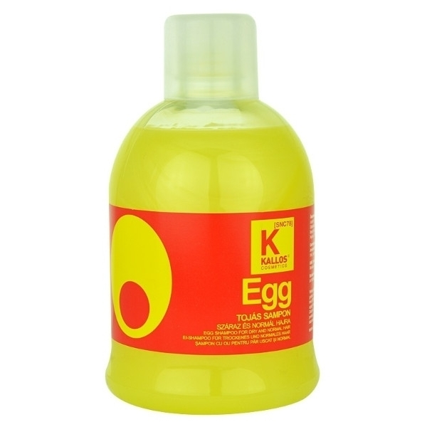 Kallos Egg Shampoo For Dry And Normal Hair 1000ml