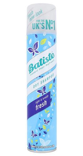 Batiste Dry Shampoo Fresh 200ml With Delicate Fresh Scent oμορφια   μαλλιά   φροντίδα μαλλιών   ξηρά σαμπουάν