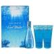 Davidoff Cool Water Eau De Toilette 30Ml & 50Ml Shower Gel & 50Ml Body Lotion