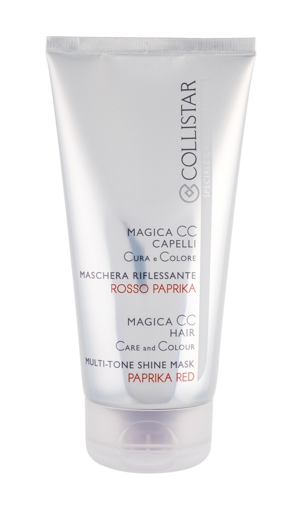 COLLISTAR Magica CC Hair Care And Colour Mask maska do wlosow Paprika Red 150ml
