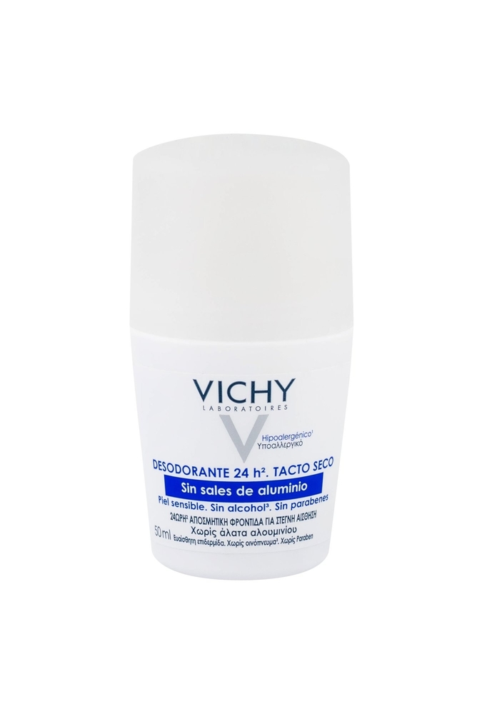 Vichy Deodorant 24h Deodorant 50ml Aluminum Free - Alcohol Free (Roll-on)