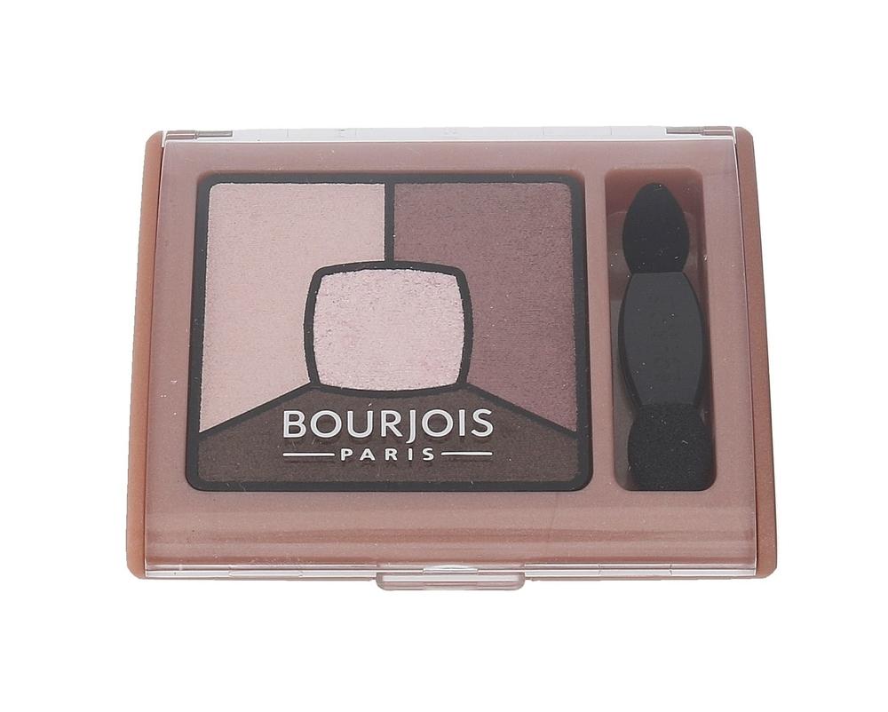 Bourjois Paris Smoky Stories Quad Eyeshadow Palette Eye Shadow 3,2gr 02 Over Ros oμορφια   μακιγιάζ   μακιγιάζ ματιών   σκιές ματιών