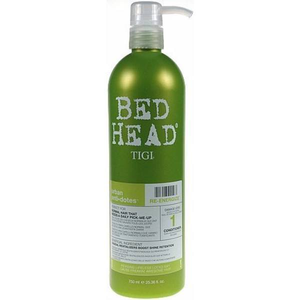 Tigi Bed Head Re-energize Conditioner 750ml (Colored Hair - Weak Hair) oμορφια   μαλλιά   φροντίδα μαλλιών   conditioner