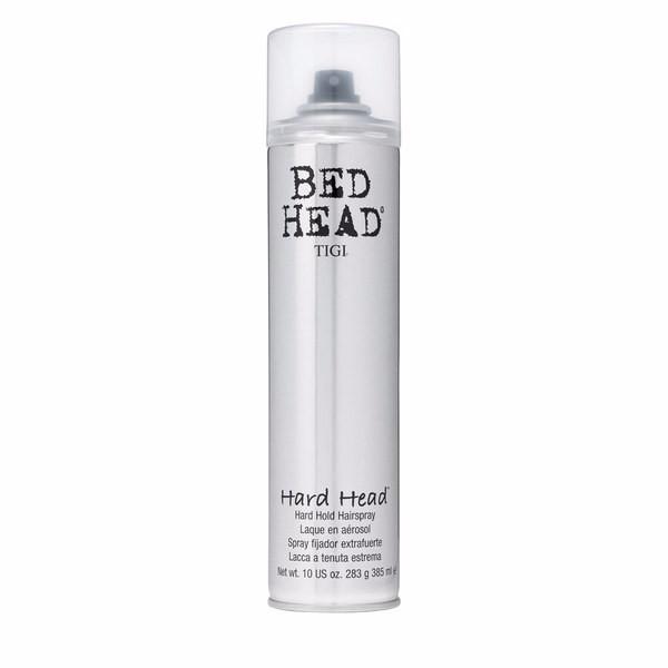 Tigi Bed Head Hard Head 385ml Strong Hold Hair Spray oμορφια   μαλλιά   styling μαλλιών   λακ   spray μαλλιών