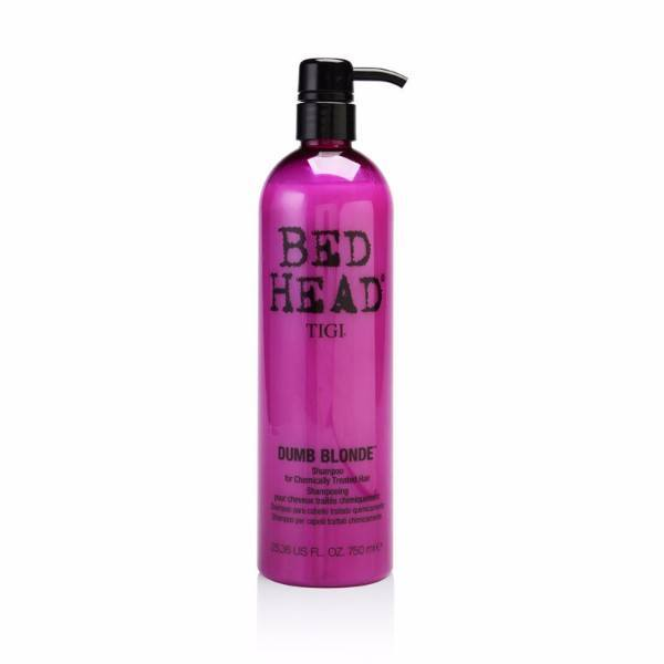 Tigi Bed Head Dumb Blonde Shampoo 750ml (Blonde Hair - Damaged Hair)