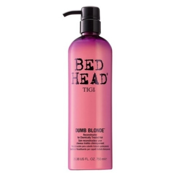 Tigi Bed Head Dumb Blonde Conditioner 750ml (Blonde Hair - Damaged Hair)