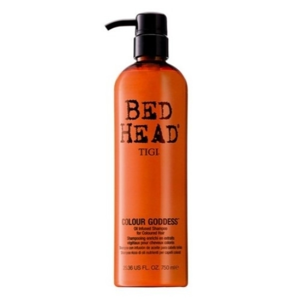 Tigi Bed Head Colour Goddess Shampoo 750ml (Colored Hair)