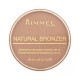 Rimmel London Natural Bronzer Bronzer 14gr Spf15 026 Sun Kissed