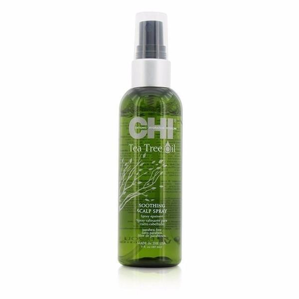 Farouk Systems Chi Tea Tree Oil Soothing Scalp Spray Hair Oils And Serum 89ml (Sensitive Scalp)