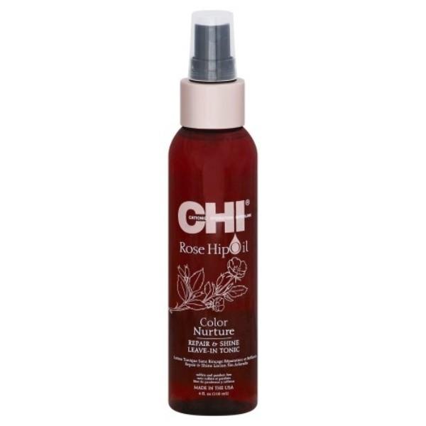 Farouk Chi Rose Hip Oil Hair Tonic 120ml oμορφια   μαλλιά   αναδόμηση μαλλιών   λάδια μαλλιών
