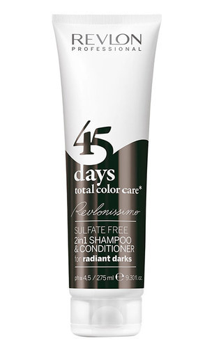 Revlonissimo 45 Days 2in1 Shampoo & Conditioner For Radiant Darks 275ml