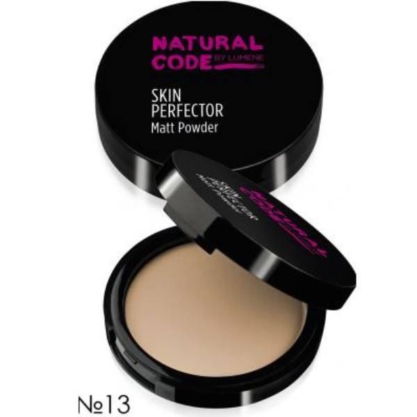 Lumene Natural Code Skin Perfector Matt Powder 10gr 13 Toffee