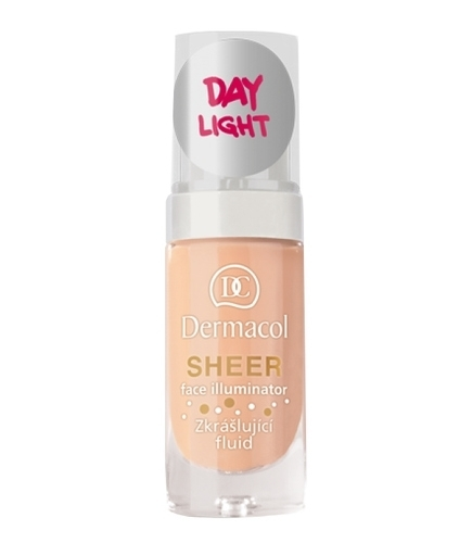 Dermacol Sheer Face Illuminator - Beauty Fluid 15ml 02 Day Light oμορφια   μακιγιάζ   μακιγιάζ προσώπου   make up