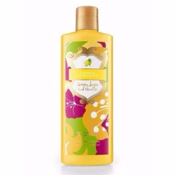 Victoria Secret Lemon Paradise Lemon Sugar And Vanilla Exhilarating Body Wash 300ml