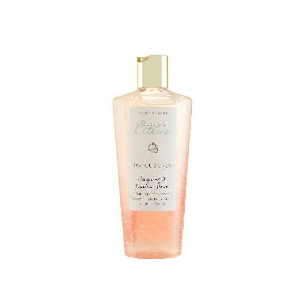 Victoria Secret Luscious Crush Body Wash 250ml Sparkling Citrus - Tangarine & Pass