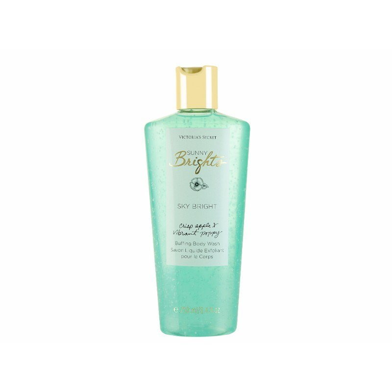 Victoria Secret Sky Bright Body Wash 250ml Sunny Brights - Apple & Poppy