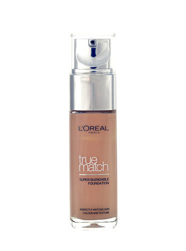 Loreal Paris True Match Super Blendable Foundation SPF17 30ml D7-W7 Golden Amber