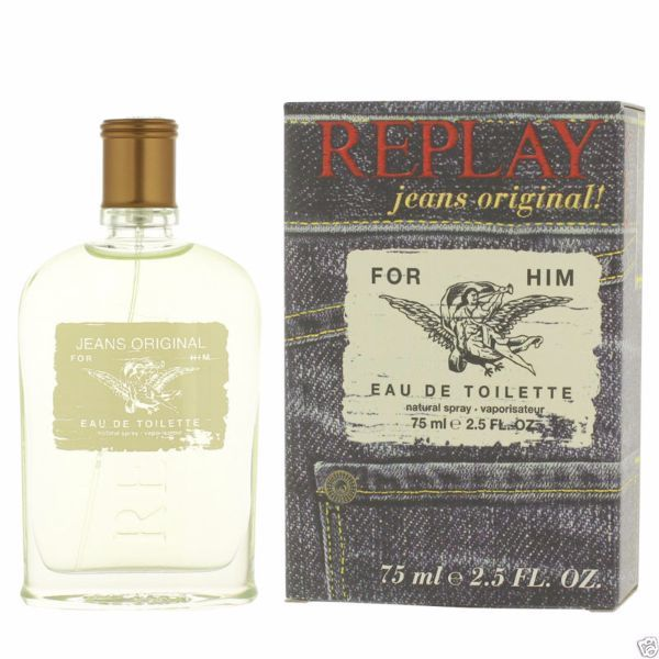 REPLAY Jeans Original For Him EDT 75ml