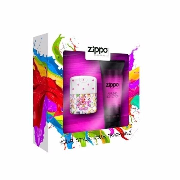 Zippo Fragrances Popzone Eau De Toilette 40ml Combo: Edt 40 Ml + Body Lotion 100 Ml