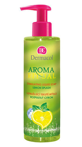 Dermacol Aroma Ritual Liquid Soap Lemon Splash 250ml Lemon Splash