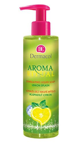 Dermacol Aroma Ritual Liquid Soap Lemon Splash 250ml Lemon Splash oμορφια   σώμα   καθαρισμός σώματος