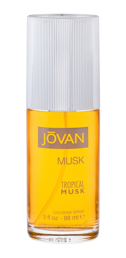 Jovan Tropical Musk Eau De Cologne 88ml