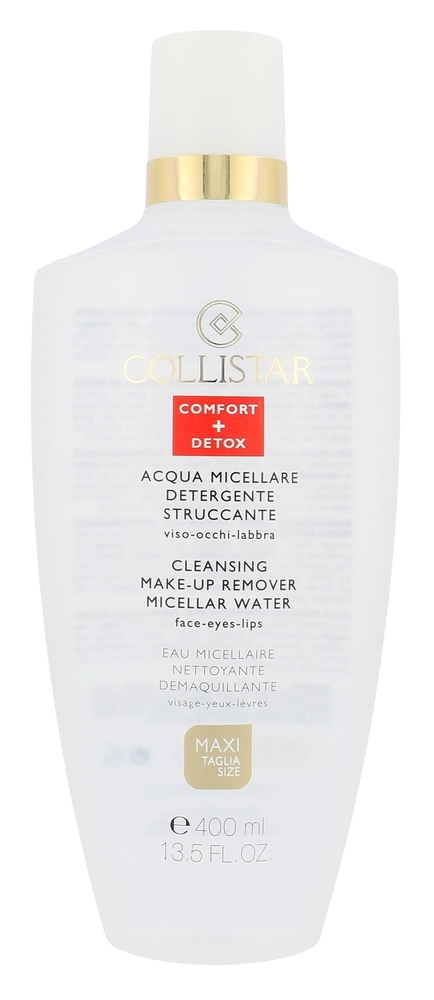 Collistar Micellar Water Cleansing Make-up Remover Face-eyes-lips Micellar Water 400ml (All Skin Types)