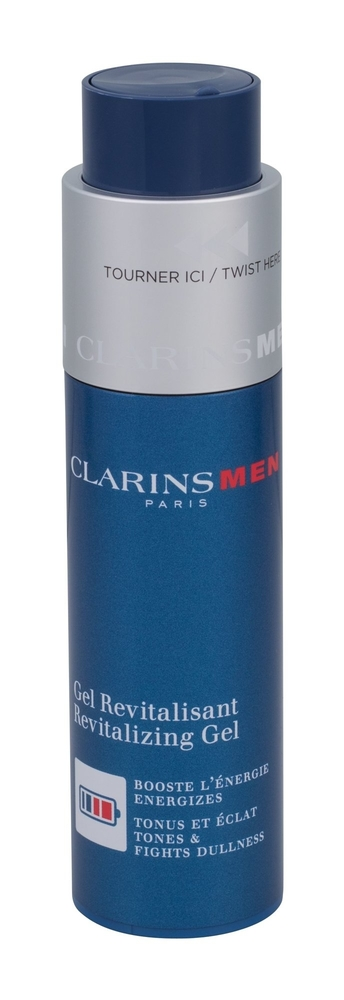 Clarins Men Revitalizing Gel Facial Gel 50ml (All Skin Types - For All Ages)